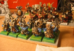 Dwarf Thunderer unit from new boxed set