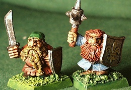 Dwarves closeup